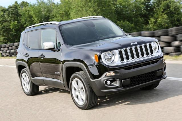 2017 Jeep Renegade TRAILHAWK Slide 0