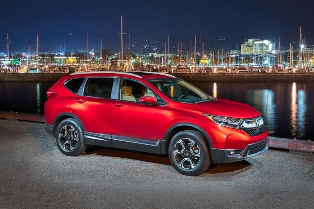 2017 Honda CR-V LX SUV Slide 0