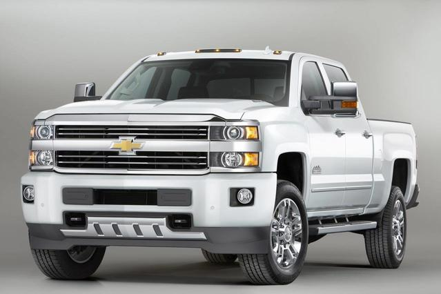2015 Chevrolet Silverado 2500HD Built After Aug 14 LT Crew Cab Pickup Slide 0