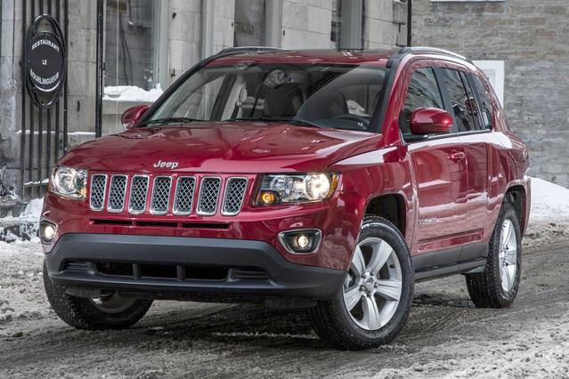 2016 Jeep Compass HIGH ALTITUDE SUV Slide 0