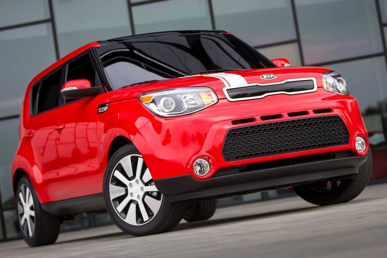 2014 Kia Soul BASE Hatchback Slide 0