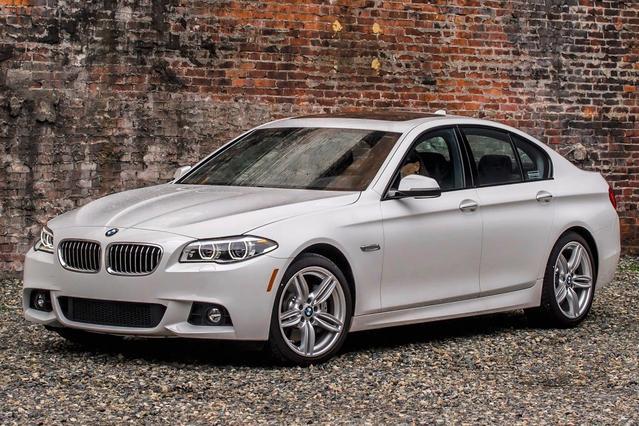 2016 BMW 5 Series 528I Sedan Slide 0