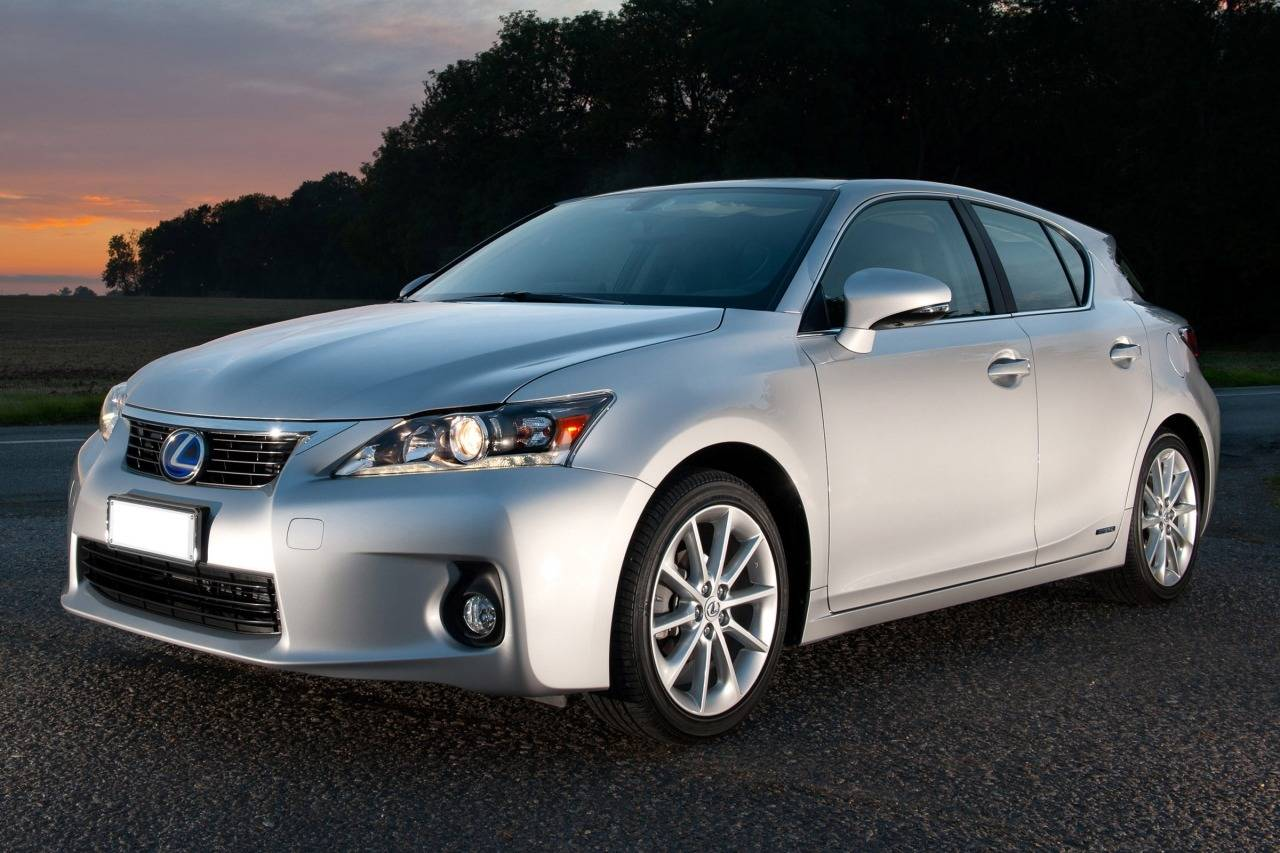 2012 Lexus CT 200H 4dr Car Slide 0