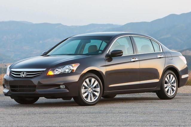 2012 Honda Accord EX-L 4dr Car Slide 0