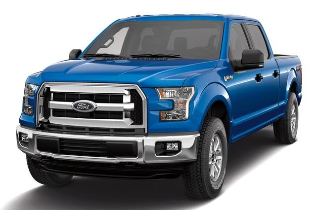 2015 Ford F-150 PLATINUM Short Bed Slide 0