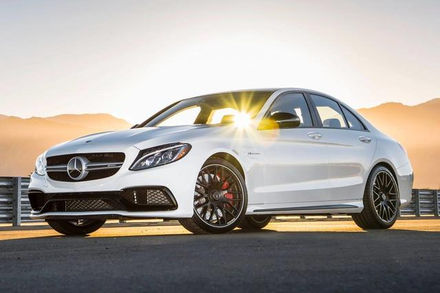 2016 Mercedes-Benz C-Class C 300 4dr Car Slide 0