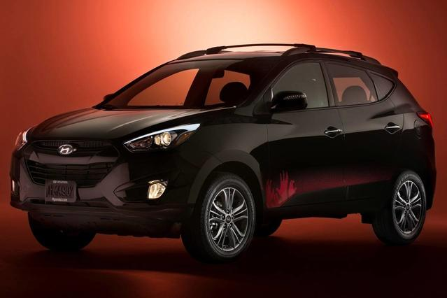 2014 Hyundai Tucson LIMITED SUV Slide 0