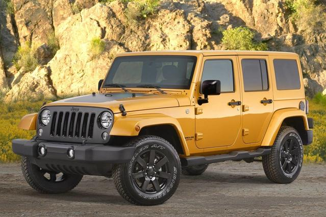 2015 Jeep Wrangler Unlimited SPORT SUV Slide 0
