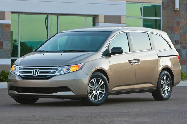 2014 Honda Odyssey TOURING ELITE Minivan Slide 0