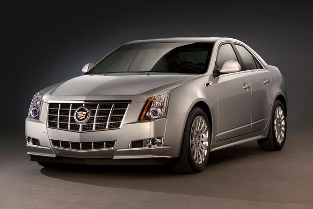 2013 Cadillac CTS PERFORMANCE 4dr Car Slide 0