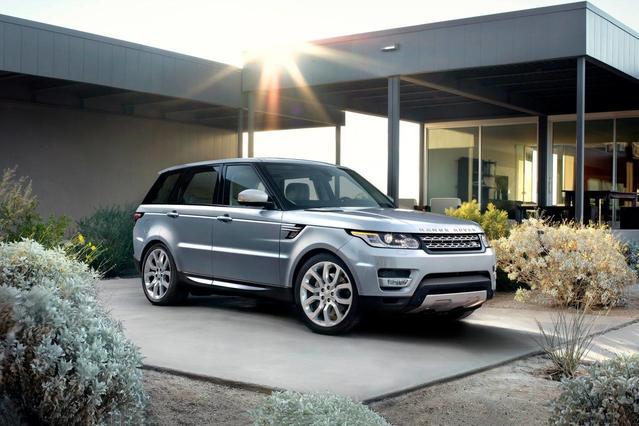 2017 Land Rover Range Rover Sport SVR SUV Slide 0