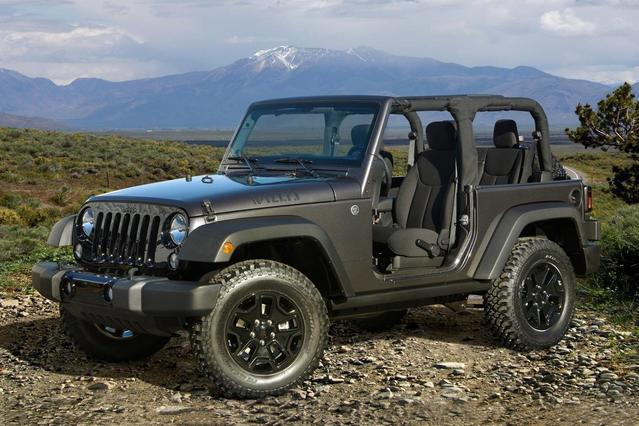 2017 Jeep Wrangler Unlimited WILLYS WHEELER 4X4  NC