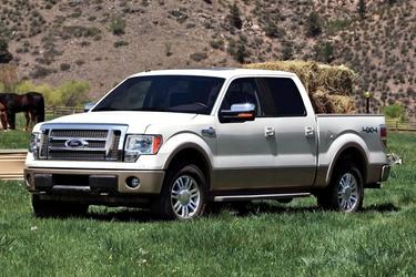 "2012 Ford F-150 2WD SUPERCREW 145"" KING RANCH Crew Cab Pickup Slide"