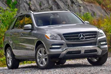 2015 Mercedes-Benz M-Class ML 63 AMG SUV Slide