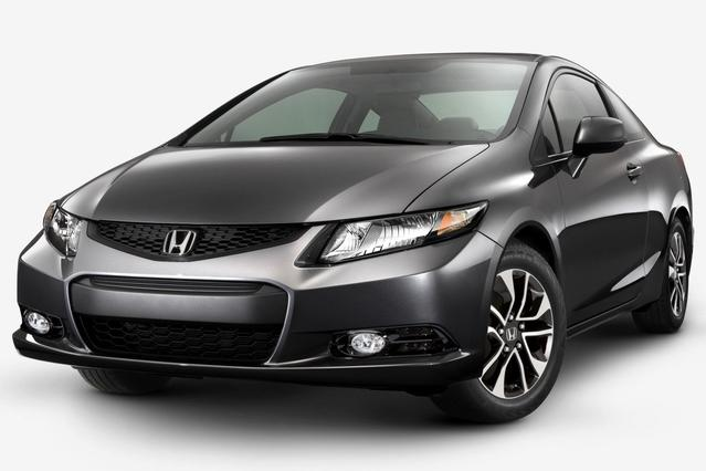 2013 Honda Civic Sdn LX 4dr Car Slide 0