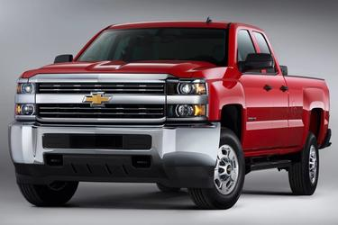 2016 Chevrolet Silverado 2500HD LTZ Pickup Slide