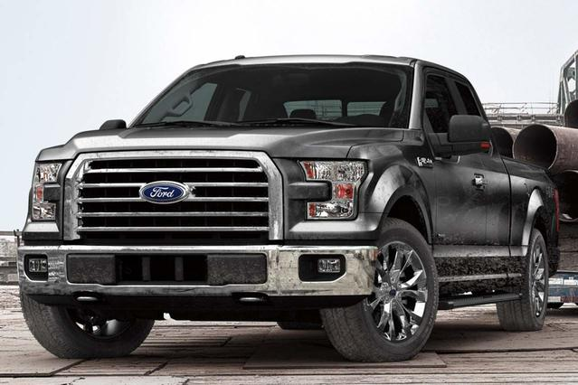 2015 Ford F-150 XL Crew Cab Pickup Slide 0