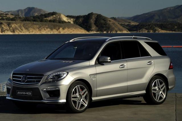 2012 Mercedes-Benz M-Class ML 350 Sport Utility Slide 0
