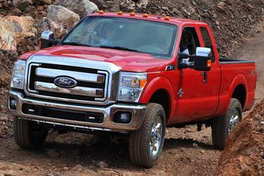 2016 Ford F-250SD XL Crew Cab Pickup Slide