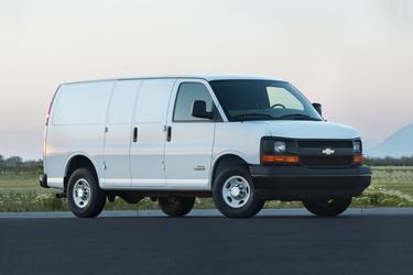 """2017 Chevrolet Express Cargo Van RWD 3500 135"""" Full-size Cargo Van  NC"""