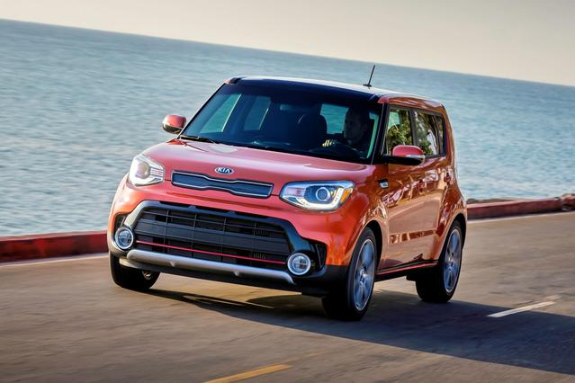 2017 Kia Soul + Hatchback Slide 0
