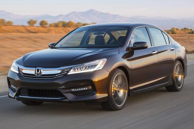 2017 Honda Accord EX Slide 0
