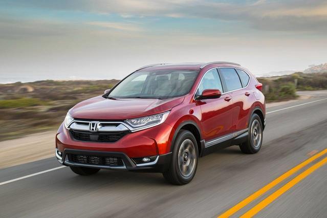 2017 Honda Cr-V LX 4D Sport Utility Slide 0