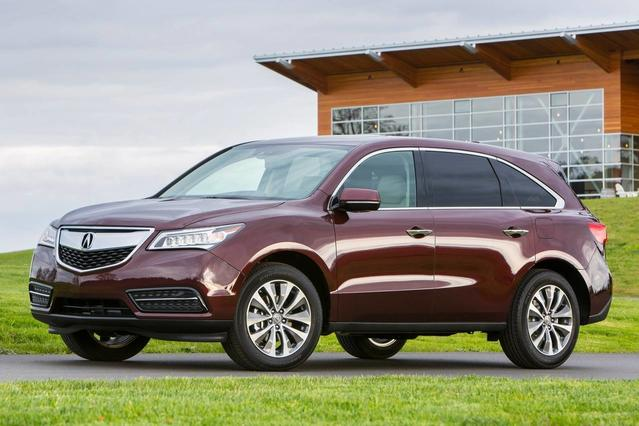 2016 Acura Mdx W/ADVANCE SUV Slide 0