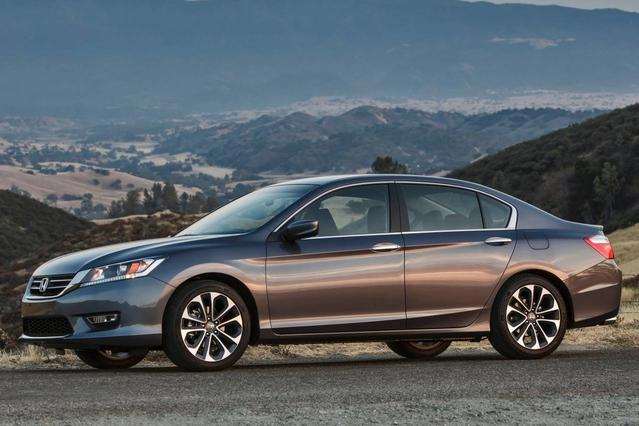 2015 Honda Accord EX-L Slide 0