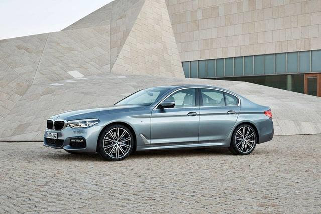 2017 BMW 5 Series 540I XDRIVE Sedan Slide 0