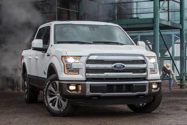 2015 Ford F-150 XL Standard Bed