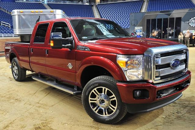 2013 Ford F-250SD XL Long Bed Slide 0