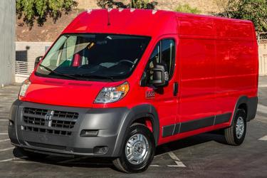 2017 Ram ProMaster Cargo Van 1500 LOW ROOF 136 WB Van North Charleston SC