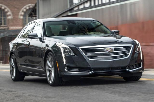 2016 Cadillac Ct6 3.6L PLATINUM 4D Sedan Slide 0