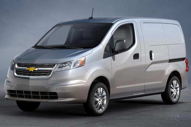 2015 Chevrolet City Express 1LT Slide 0