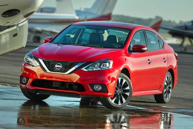 2017 Nissan Sentra S CVT Sedan Slide 0
