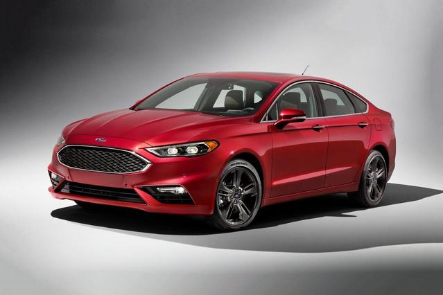 2017 Ford Fusion SE 4dr Car Slide 0