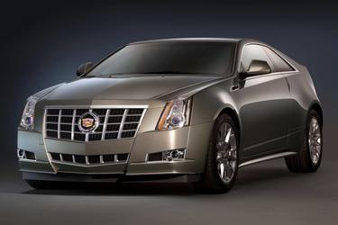 2013 Cadillac CTS 2DR CPE RWD