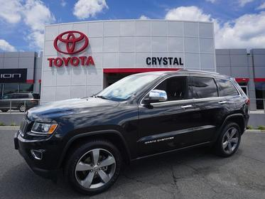 2015 Jeep Grand Cherokee LIMITED 4x4 Limited 4dr SUV Green Brook NJ