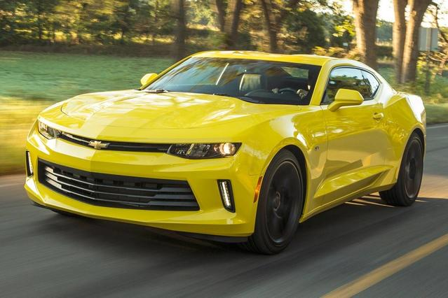 2017 Chevrolet Camaro 1LT 2dr Car Slide 0