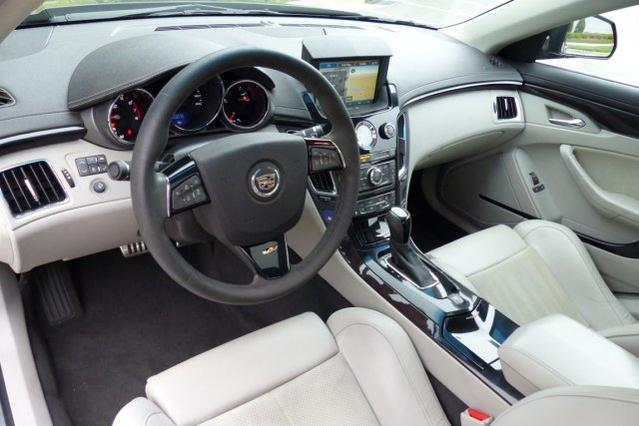 2013 Cadillac CTS-V Sedan  4dr Car Slide 0
