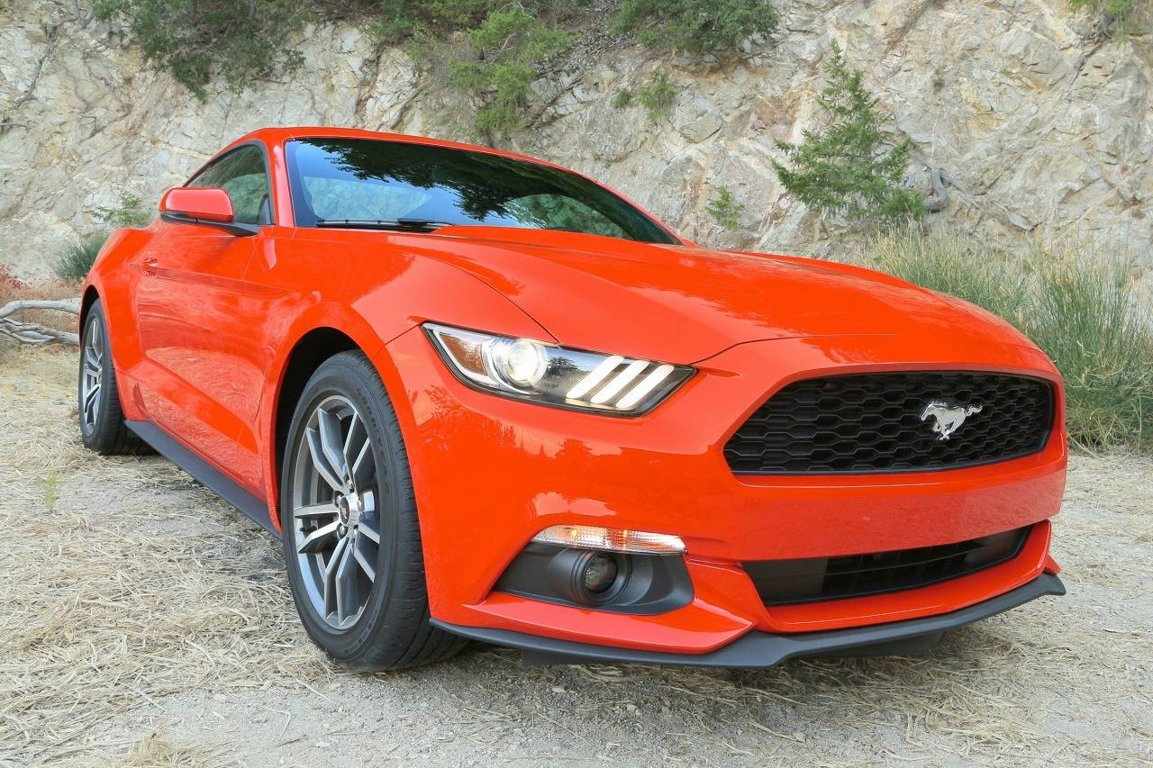 2017 Ford Mustang ECOBOOST PREMIUM Convertible Slide 0