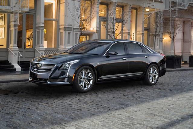 2018 Cadillac CT6 3.6L LUXURY AWD 3.6L Luxury 4dr Sedan Slide 0