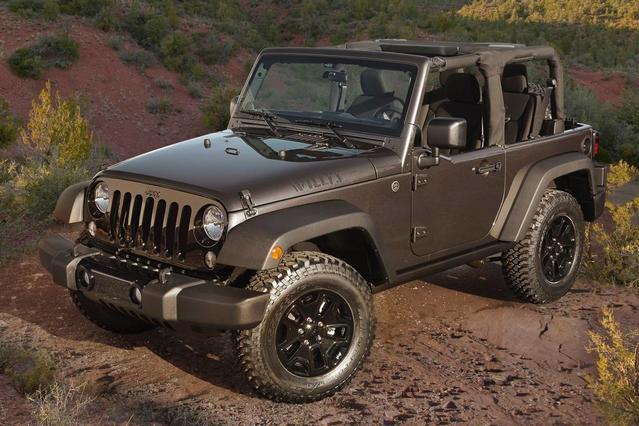 2015 Jeep Wrangler SAHARA Convertible Slide 0