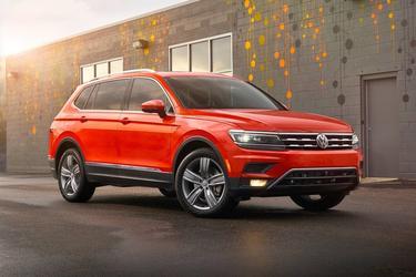 2018 Volkswagen Tiguan S Sport Utility Slide