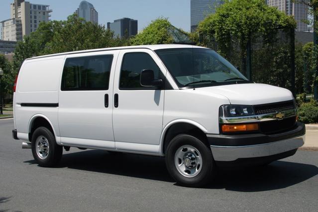 2012 Chevrolet Express 1500 LS Van Slide 0