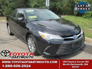 2017 Toyota Camry HYBRID XLE North Dartmouth MA