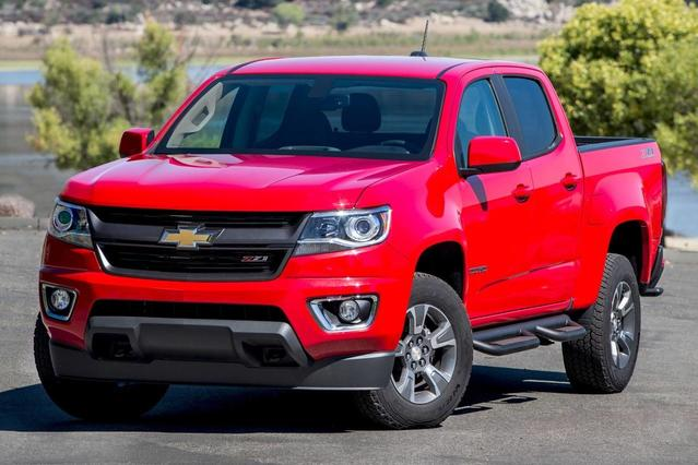 2016 Chevrolet Colorado Z71 Slide 0