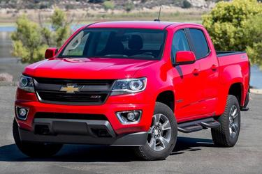 2016 Chevrolet Colorado Z71 Crew Cab Pickup Slide