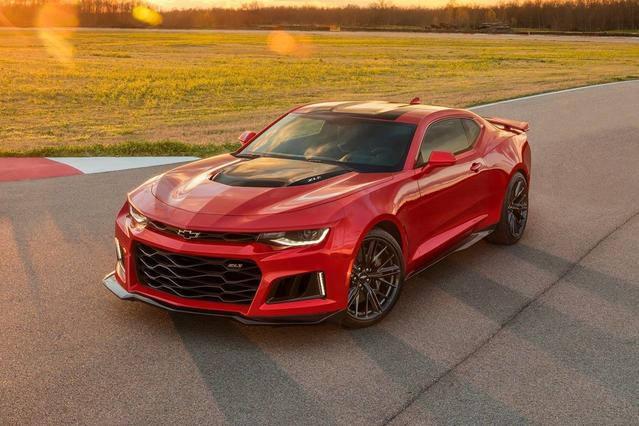 2018 Chevrolet Camaro 1LS 2D Coupe Slide 0